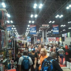Photo taken at New York Comic Con by Tyler J. on 10/14/2011