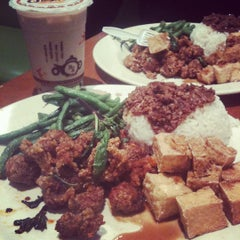 Photo taken at Ocha Tea Café by Geomher A. on 11/13/2011