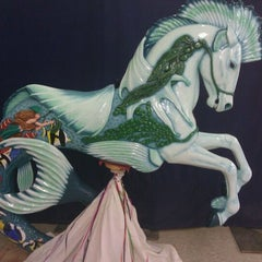 Photo taken at Albany Carousel & Museum by Heidirenee M. on 2/22/2012