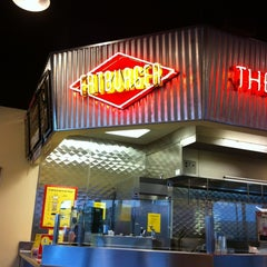 Photo taken at Fatburger in Mesa by Jenn A. on 3/27/2012