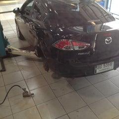 Photo taken at Mazda Dream Car Center by PeeMai Ka M. on 2/14/2012