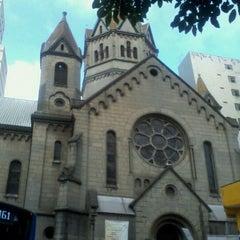 Photo taken at Rua Santa Ifigênia by Jefferson F. on 3/6/2012