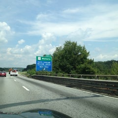 Photo taken at Georgia / South Carolina State Line by Juli W. on 8/22/2012