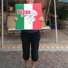 Photo taken at John's Pizza Bar & Restaurant by Margarita S. on 4/27/2012