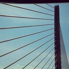 Photo taken at St. Georges Bridge by Bradley on 4/24/2012