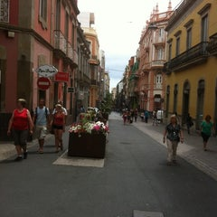 Photo taken at Calle Castillo by Carmelo M. on 8/23/2011