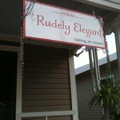 Photo taken at Rudely Elegant by rocío aracelis ú. on 12/11/2011