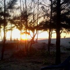 Photo taken at Pantai Panjang (Long Beach) by Indra L. on 1/20/2012