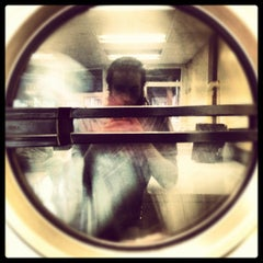 Photo taken at Nameless Laundromat by ronny k. on 4/18/2012