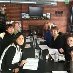 Photo taken at Rendezvous Cafe & Wine Bar by Denise R. on 1/21/2011