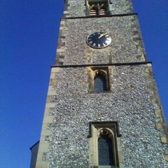 Photo taken at St Albans Clock Tower by Manco C. on 9/30/2011