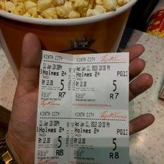 Photo taken at TGV Cinemas by Fio-nae on 1/11/2012