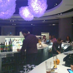 Photo taken at Six Resto Lounge by Katie B. on 10/14/2011