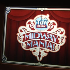 Photo taken at Toy Story Midway Mania by Sarah B. on 4/13/2012