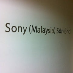 Photo taken at Sony Malaysia Sdn. Bhd. by KhengHong L. on 2/20/2011