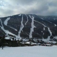 Photo taken at Stowe Mountain Resort by Nicola D. on 1/28/2012