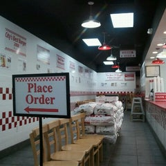 Photo taken at Five Guys by Jeff on 5/14/2011