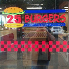 Photo taken at 25 Burgers by Charlie M. on 9/20/2011