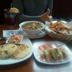 Photo taken at Antigua Mexican and Latin Restaurant by Christina Z. on 12/17/2011