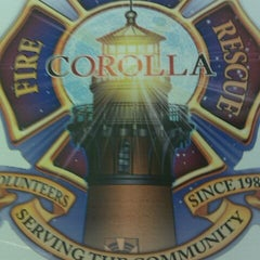 Photo taken at Corolla Fire Rescue Headquarters by Chris on 11/24/2011