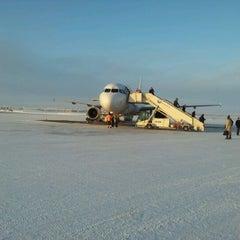 Photo taken at Kittilä Airport (KTT) by Paul M. on 2/1/2012