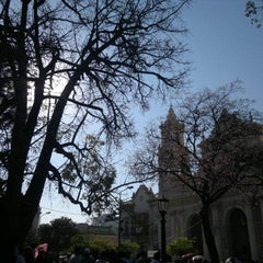 Photo taken at Plaza 9 de Julio by Fede F. on 11/6/2011