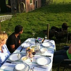 Photo taken at Ouessantfokkerij Van Marle by Elja K. on 10/4/2011