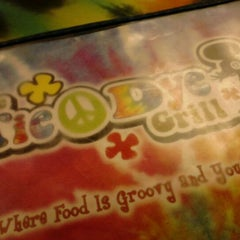 Photo taken at Tie Dye Grill by Alicia A. on 1/24/2012
