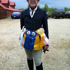 Photo taken at Equidream School of Horsemanship by Cyndi W. on 5/19/2012