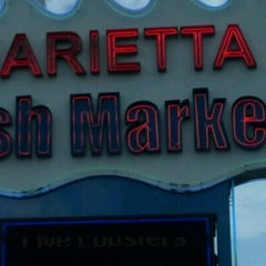 Photo taken at Marietta Fish Market by Ronald B. on 9/1/2012