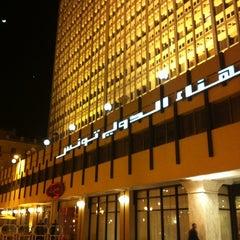 Photo taken at El Hana International Hotel Tunis by Haniotis K. on 3/27/2012