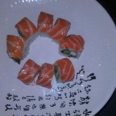 Photo taken at Yen Sushi Karaoke & Lounge by Nicole T. on 3/22/2012
