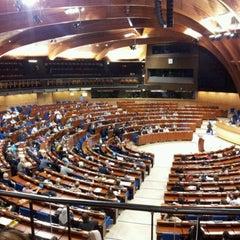 Photo taken at Parlement Européen by Thomas M. on 12/5/2011