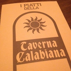 Photo taken at Taverna Calabiana by Andrea R. on 7/4/2012