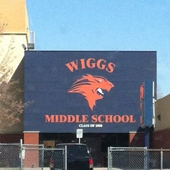 Photo taken at Wiggs Middle School by Jesse H. on 10/25/2011