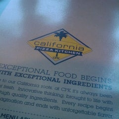 Photo taken at California Pizza Kitchen by Angelique G. on 9/3/2011