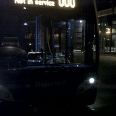 Photo taken at Hyde Bus Station by Rob W. on 1/4/2012