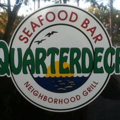 Photo taken at Quarterdeck Restaurant by MiKe M. on 9/14/2011