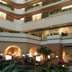 Photo taken at Embassy Suites San Diego Bay - Downtown by Joshua R. on 10/16/2011