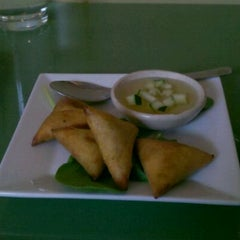 Photo taken at Smiling Banana Leaf by Troy M. on 4/28/2012