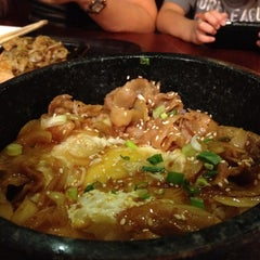 Photo taken at Manpuku Japanese Gourmet Town by Sonny G. on 11/20/2011