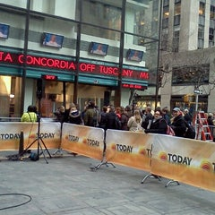 Photo taken at TODAY Show by Sally C. on 1/25/2012