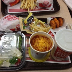 Photo taken at Wendy's by Nick F. on 4/1/2012