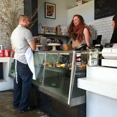 Photo taken at Sandbox Bakery by elsa h. on 5/9/2012