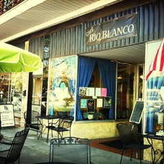 Photo taken at Cafe Rio Blanco by Jessica S. on 3/21/2012