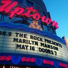 Photo taken at Uptown Theater by greg b. on 5/17/2012