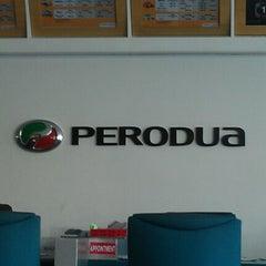 Photo taken at Perodua Sales & Service Center by Fadhlina Z. on 8/15/2012