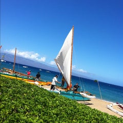 Photo taken at Kā'anapali Beach by Aimee P. on 6/2/2012