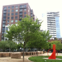 Photo taken at Jamison Square Park by rs m. on 4/28/2012