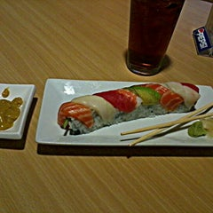 Photo taken at Saku Japan Grill by Dennis J. on 2/18/2012